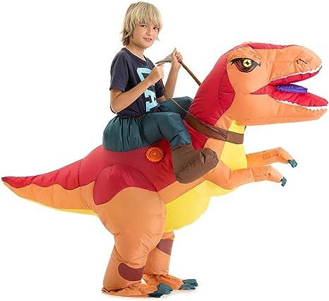 Amazon.com: Hsctek - Disfraz de dinosaurio inflable para ...