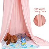 YESURPRISE Mosquito Net Bed Canopy Princess Queen