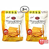 Fiber Gourmet, Cheese Thinables 6 Oz, Low Carb Crackers (2 Pack)