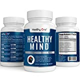 Healthy Mind - Memory, Focus and Clarity Brain Nootropic Supplement 60 Capsules - Max Strength All Natural. Ginko Biloba, Ginseng, Bacopa, Rhodiola, Sage, Gotu Kola, Green Tea, Rosemary