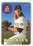 Baseball MLB 2018 Topps Heritage #274 Jon Gray #274 NM Near Mint Rockies