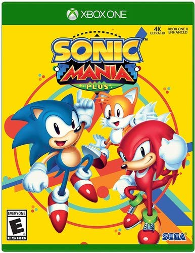 Sonic Mania Plus - Xbox One (Xbox One Games Rated E)