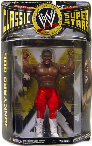 WWE Wrestling Classic Superstars Series 26 Action Figure Junkyard Dog JYD