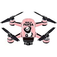 Skin For DJI Spark Mini – Hug A Panda | MightySkins Protective, Durable, and Unique Vinyl Decal wrap cover | Easy To Apply, Remove, and Change Styles | Made in the USA