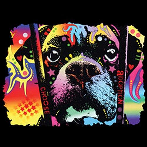 Pop Art Canvas ::: Boxer ::: peppige Umhängtasche mit Art Style Hunde Motiv rwTUy3R70T