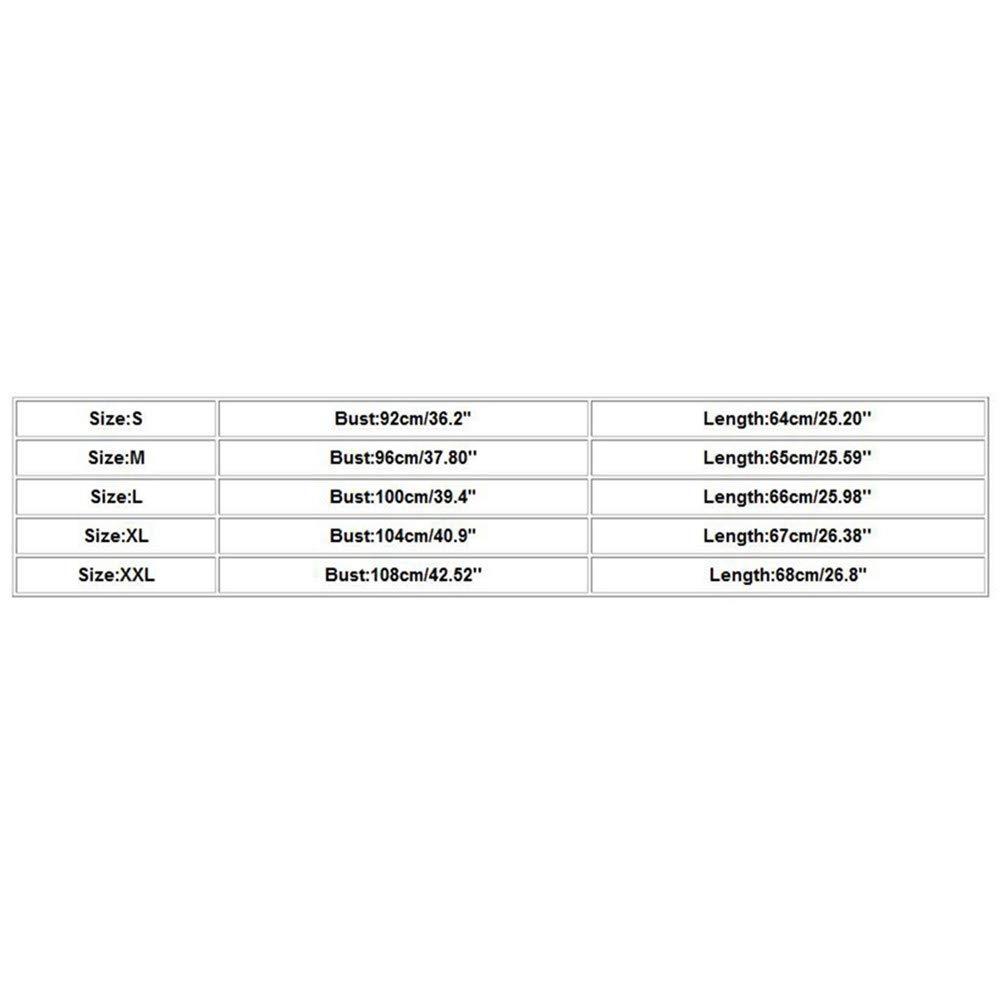 Canotte Benda Sportive Casuale Sciolto Eleganti Maglia Camicie Camicia Bluse Maglietta Blusa Donne Top Magliette Gilet Canottera Donna Canottere S-XXL LEvifun Donna Canotta Stampa Girasole