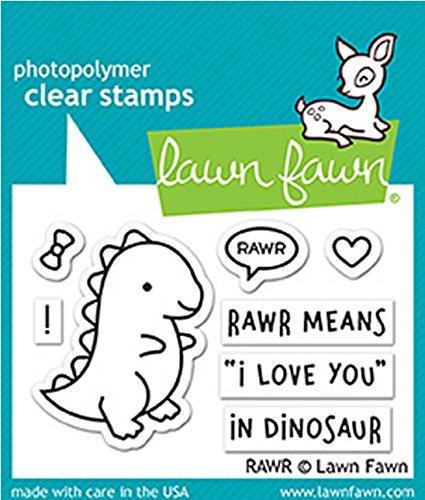 Lawn Fawn Lf1555 Rawr Clear Stamp Set 314016