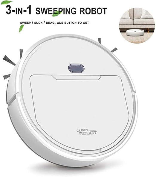 Vuffuw Robot Aspirador 3 en 1, Barre y Aspira el Suelo y Alfombra ...