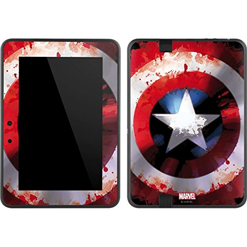 Marvel Captain America Kindle Fire HD 7 Skin - Captain America Shield Vinyl Decal Skin For Your Kindle Fire HD 7 (Kindle Fire Hd Decal Skin compare prices)