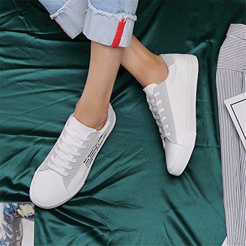 All'aperto Rosso Nuovi Ponte Da Ginnastica Sneakers Per Bianco Nero up Autunno 2018 Lace Primavera Tela Uomini Di Casuali Mocassini Passeggio Piatti Xue Comfort Un Scarpe aWBARqpW5
