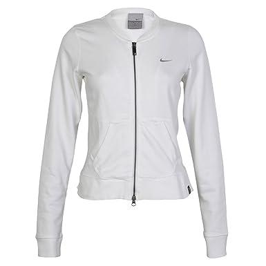 Womens Nike White Blue Zip Up Jacket Top Trousers Pants Tracksuit Set Size  XL a5c9a6a5c3