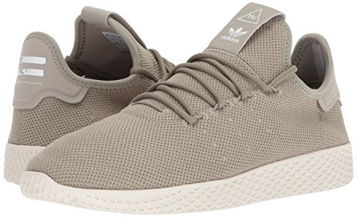 adidas Originals Men's Pharrell Williams Tennis HU Running Shoe Tech Beige/Chalk White, 4 Medium US by adidas Originals (Image #6)