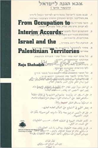 Book From Occupation to Interim Accords:Vol. CIME 4:Israel and the Palestinian Territories (Cimel Book Series)