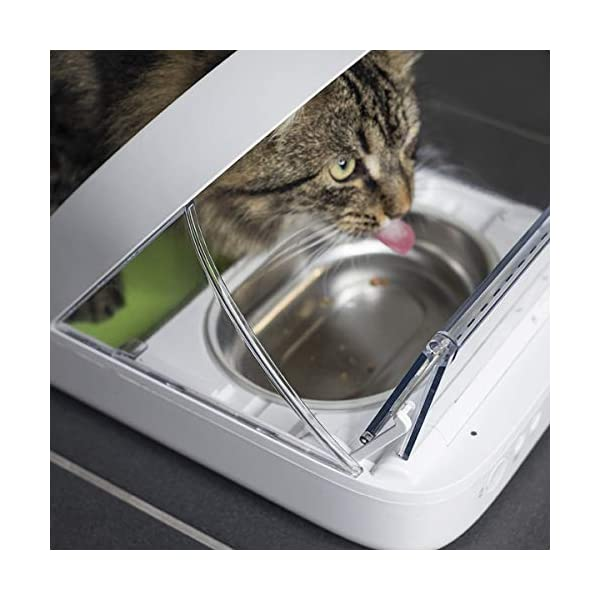 SureFeed Microchip Pet Feeder, White (4 x C Batteries Required) 2