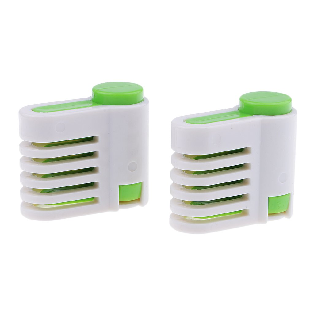 Fityle 2 Pieces 5 Layers DIY Cake Bread Cutter Leveler Slicer Set Cutting Fixator Tools Cake Decorating Baking Tools For Home Kitchen Coffee Cake Shop