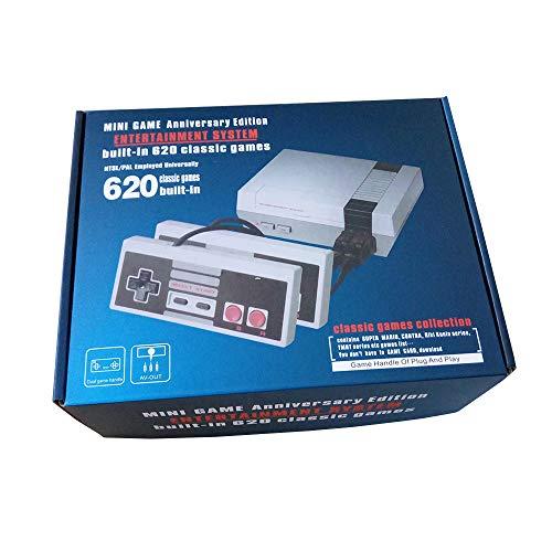 Mini Family Consola Construido 620 Videojuegos Salida AV Con Dos Controladores a buen precio