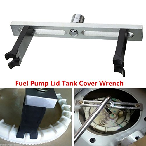 Fuel Pump Lid Tank Cover Remove Spanner Adjustable Wrench Tool For Benz BMW Audi (Lug Vw Cap Remover Nut)