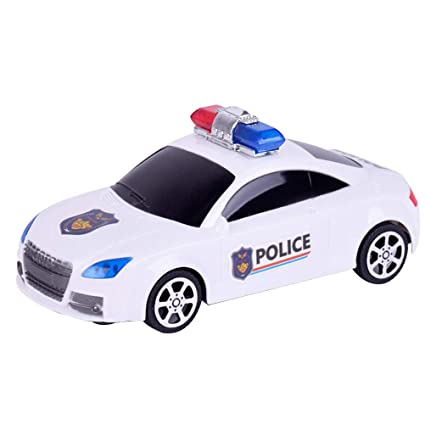 Buy Yeahibaby Kids Police Car Toy Mini Electric Police Car Model Toy