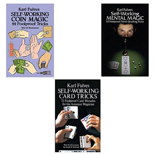 (Set) Self Working Mental Magic & Card Tricks & Coin Feats - Step Books (Card Feat)