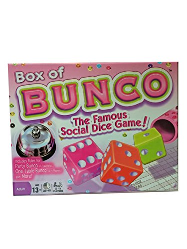 Winning Moves Box of Bunco Game