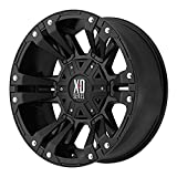 xd series rims 18 - XD Series by KMC Wheels XD822 Monster 2 Matte Black Wheel (18x9