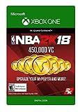 Video Games : NBA 2K18: 450,000 VC - Xbox One [Digital Code]