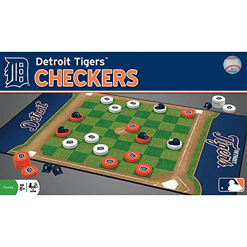 MasterPieces 41466 Detroit Tigers Checkers Puzzle