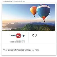 Flat 10% off  MakeMyTrip - Digital Voucher  Use Promocode MMTSEP10 at checkout