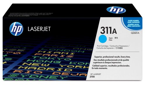 HP Color LaserJet Q2681A Cyan Print Cartridge in Retail Packaging, Office Central