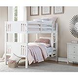 Dorel Living Dylan Kids Bunk Beds, with Guard