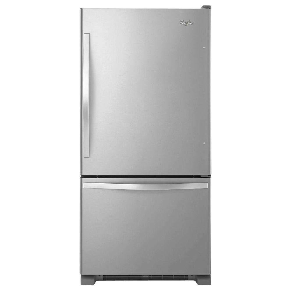 Whirlpool WRB322DMBM 21.9 Cu. cuadrados. Refrigerador de ...