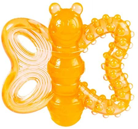 JW PET PLAYPLACE BUTTERFLY PUPPY TEETHER