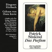 Das Parfum Hörbuch von Patrick Süskind Gesprochen von: Hans Korte