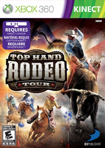 Top Hand Rodeo Tour For Kinect   Xbox 360