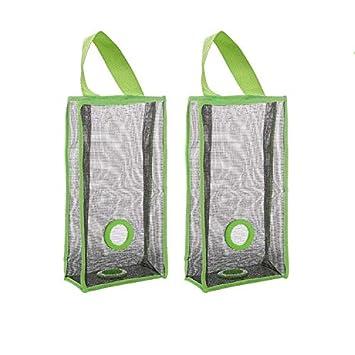 Bolsa de plástico, bolsas de basura de cocina, bolsa de malla transpirable, plegable