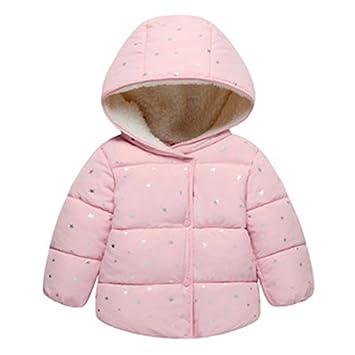 Kinder Baby Hoodie Coat Winterjacke Mädchen Jungen
