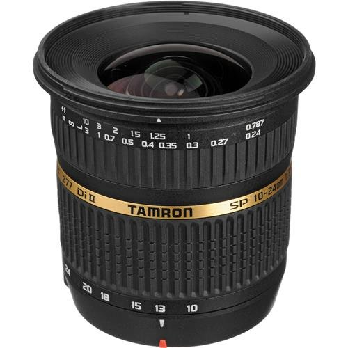 Tamron Auto Focus 10-24mm f/3.5-4.5 SP Di II LD Aspherical (IF) Lens with Built-in Auto Focus Motor for Nikon Digital SLR Cameras (Model B001NII) by Tamron