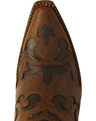 Stivali Moda Vintage Intarsio Capra Delle Donne Di Corral Cioccolato, Nero