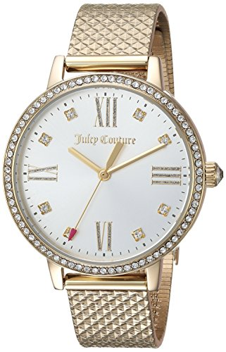 Juicy Couture Women's 'SOCIALITE' Quartz Tone and Gold Plated Dress Watch(Model: 1901613)