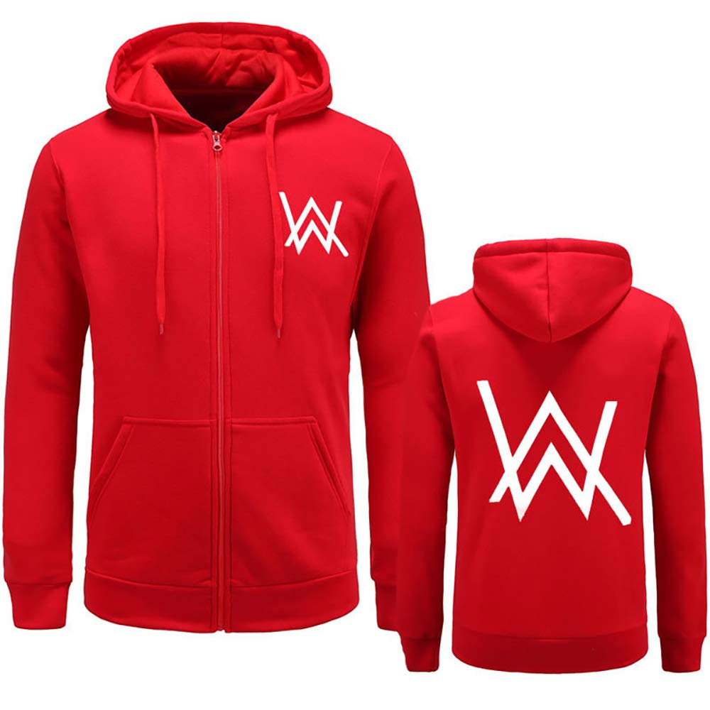 Helen-sky Alan Walker Hoodies Autumn Winter Hooded Long Sleeve Sweatshirt Zipper Hoodie Pullovers Clothing