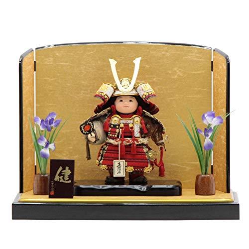五月人形 子供大将平飾り【健】 幅60cm[195to1072]公司 端午の節句 B07MWXQYHS