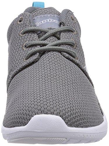 Kappa SPEED II Footwear unisex - zapatilla deportiva de material sintético unisex gris - Grau (1663 grey/aqua)