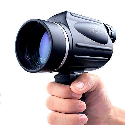 USCAMEL 13x50 Powerful Monocular, Bright and Clear Range of View, Travel and Sports Bird Watching Telescope, Black