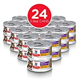 Hill's Science Diet Wet Cat Food, Sensitive Stomach & Skin, Chicken & Vegetable Recipe, 2.9 oz Cans, 24-pack