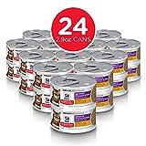 Hill's Science Diet Adult Sensitive Stomach & Skin Wet Cat Food, Chicken & Vegetable Entrée Canned Cat Food, 2.9 oz, 24 Pack