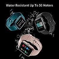 GRDE Smartwatch Bluetooth 5.0 Reloj Inteligente Impermeable IP68 GPS Sueño Pulsómetros Podómetro Caloría Rastreador Ejercicios Música Control ...