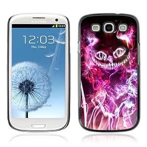 YOYOSHOP [Magical Neon Cat] Samsung Galaxy S3 Case