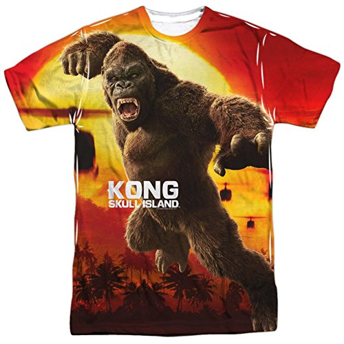 Kong  Skull Island  Attack Of The King T Shirt Size Xxl