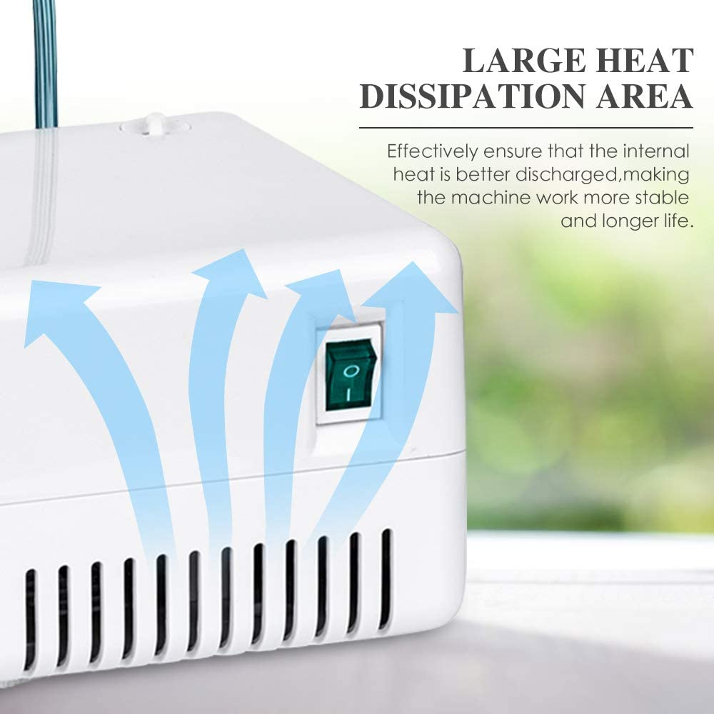 FIGERM Upgraded Cool Mist System for Home Use, Ideal for Children and Adult, Portable -2 Years Warranty