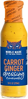 product image for Noble Made by The New Primal, Carrot Ginger Dressing & Marinade, 10 Fl Oz